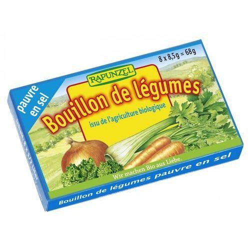 Rapunzel (kremy orzechowe, kostki, ketchupy, inne Bulion - kostki warzywne o obniżonej zawartości soli (niebieskie) bio 8x8,5 g - rapunzel