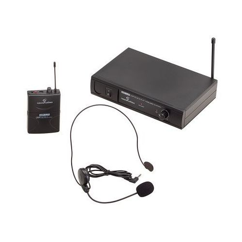 wf-u11pb system bezprzewodowy uhf, nagłowny pojedynczy marki Soundsation