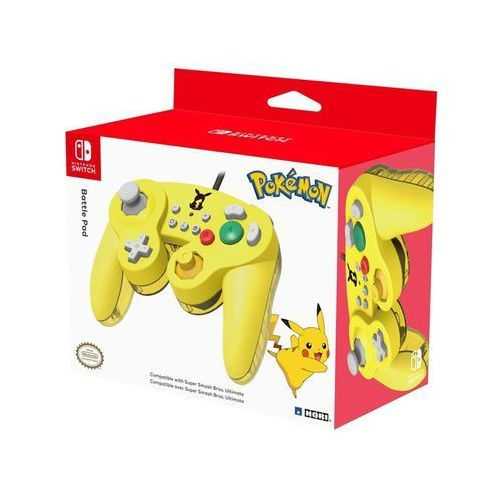 HORI Battle Pad - Pikachu - Gamepad - Nintendo Switch