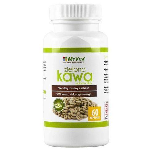 Ekstrakt z zielonej kawy (Zielona Kawa) 1000mg 60 kaps. (5903111710163)