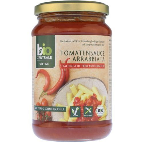 Sos Pomidorowy Arrabiatta Bezglutenowy 350g - Bio Zentrale EKO (4005009100313)
