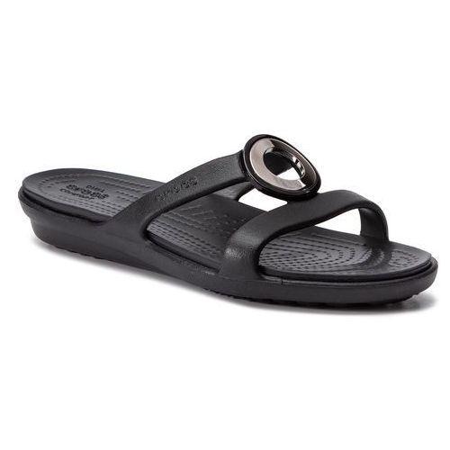 Klapki - sanrah metalblock sandal w 205592 gunmetal/black, Crocs, 36.5-41.5