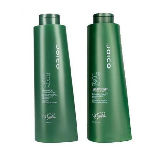 Joico body luxe zestaw zwiększający objętość | szampon 1000ml + odżywka 1000 ml (9753197531287)