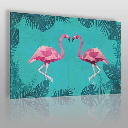 Pan i Pani Flaming - nowoczesny obraz na płótnie, 36901