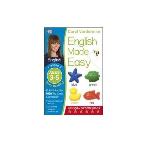 English Made Easy Early Reading Ages 3-5 Preschool Key Stage 0 (9781409344698)