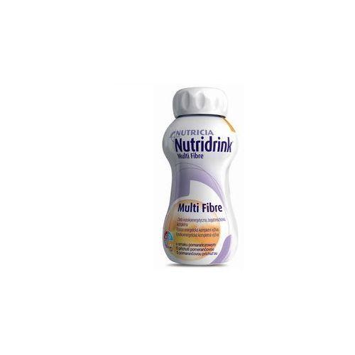 Nutridrink Multi Fibre (smak pomarańczowy) 200 ml, postać [płyn]