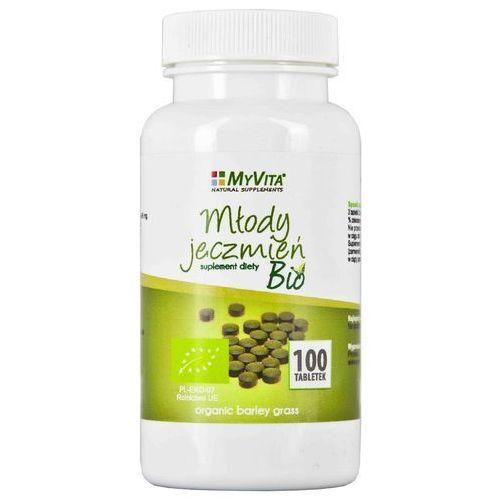 Tabletki Młody jęczmień 500 mg BIO - 100 tabl.