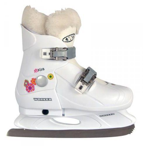 Dziecięce łyżwy WORKER Kira rozmiar S (29-32) - oferta [a535612d7515e55e]
