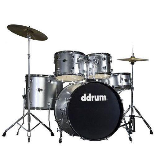 Ddrum d2 brushed silver zestaw perkusyjny