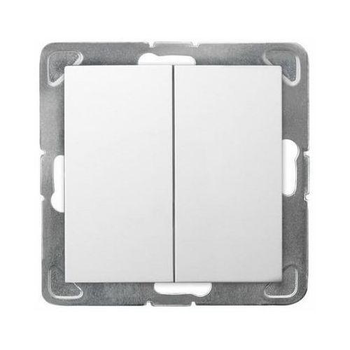 Ospel impresja łącznik schodowy podwójny biały łp-10y/m/00 (5907577436766)