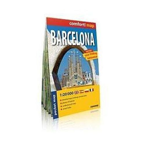 Comfort!map Barcelona midi 1:20 000 plan miasta - ExpressMap, Expressmap
