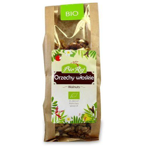 Bio raj (konfekcjonowane) Orzechy włoskie bio 130 g bio raj