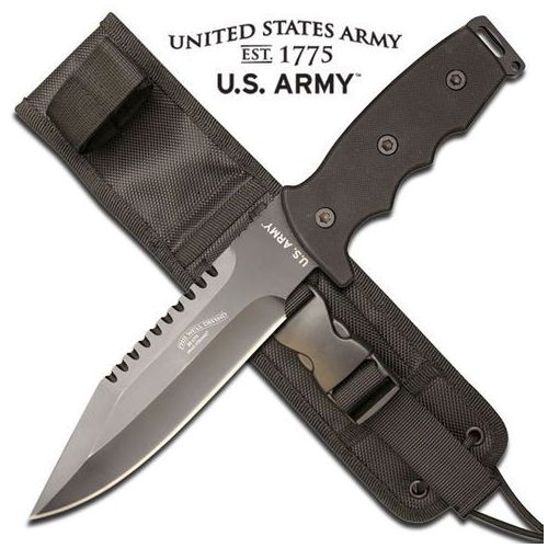 Nóż o stałym ostrzu us army a-1003 marki Usa