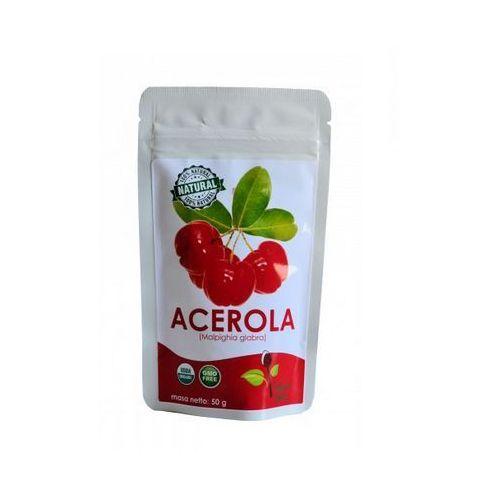Acerola 25% sproszkowany ekstrakt z owoców aceroli 50g, KENAY