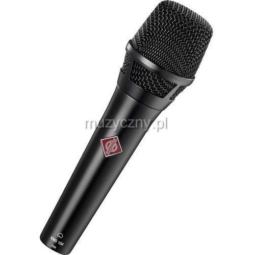 kms 104 plus mikrofon pojemnościowy, kolor czarny marki Neumann