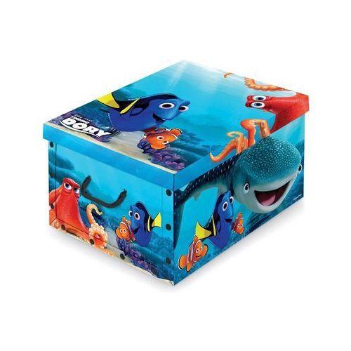 Domopak living pudełko do przechowywania z uchwytem disney dory, 39 x 50 x 24 cm marki 4home