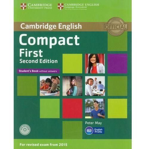 Compact First 2nd Edition. Podręcznik bez Klucza + CD, oprawa miękka