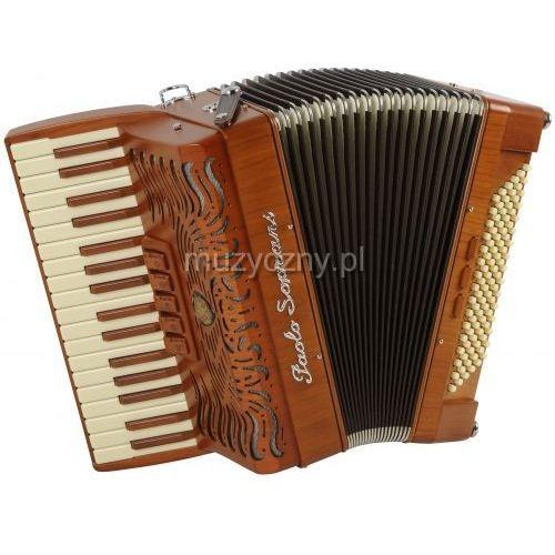 Paolo Soprani Folk 96 34/3/5 96/4/3 akordeon (wykończenie drewniane)