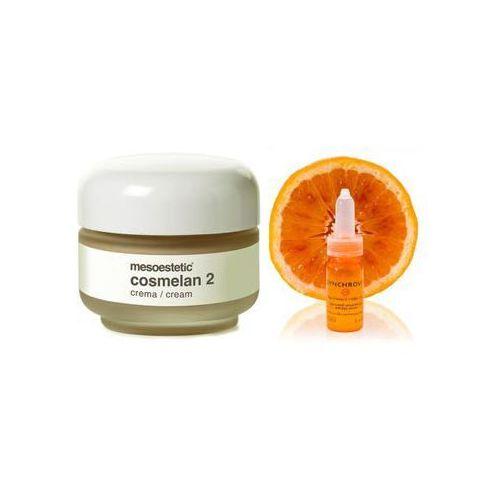 Mesoestetic - Cosmelan 2 Cream + General Topics Synchrovit C - Cosmelan krem na przebarwienia + Skoncentrowane serum liposomowe z witaminą C GRATIS! - z kategorii kosmetyki do twarzy
