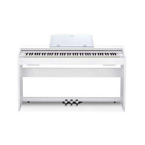Casio px-770 we pianino cyfrowe białe