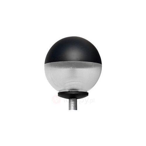 Nowoczesna lampa masztowa Head w wersji okrągłej (lampa zewnętrzna ogrodowa)