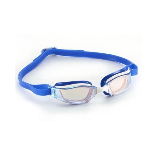 okulary xceed titanium iridescent mirror blue white marki Mp michael phelps
