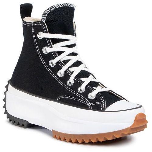 Sneakersy CONVERSE - Run Star Hike Hi 166800C Black/White/Gum, w 4 rozmiarach
