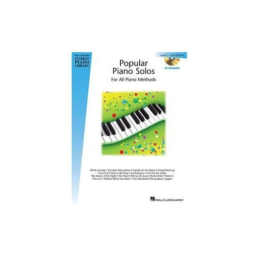 Hal Leonard Student Piano Library: Popular Piano Solos. 2nd Edition. Level 1 (2014)