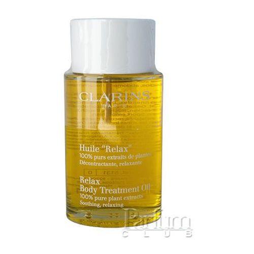 Clarins Body Specific Care relaksujący olejek do ciała z ekstraktem roślinnym (Relax Body Treatment Oil, 100% Pure Plant Extracts) 100 ml, CLA-HEU01