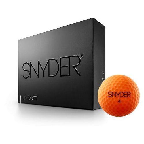 Pilki golfowe SNYDER GOLF orange matt