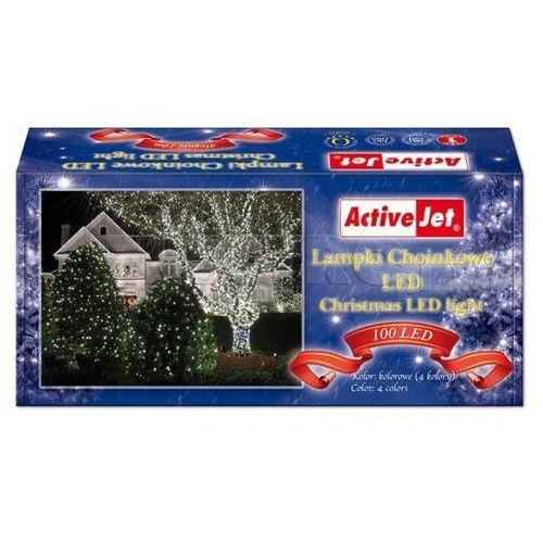 Lampki choinkowe ACTIVEJET 100 LED CL10010RGBO + Odbiór w 800 punktach Stacji z paczką! z kategorii ozdoby świąteczne