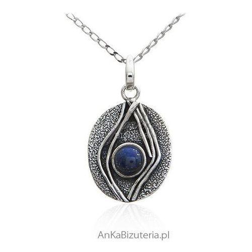 6ceb252975205f Zawieszka srebrna z lapis lazuli - srebro oksydowane 50,00 zł nr. Towaru:  121.1 Srebro próba: 925 oksydowany Waga wisiorka: ~ 8,5 g Wielkość  wisiorka: dł.