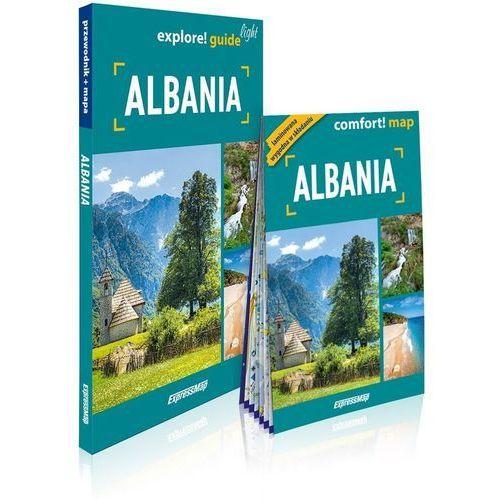 Explore! guide light Albania (przewodnik + mapa) - Izabela Nowak (122 str.)