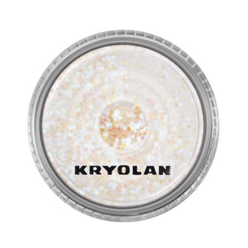 polyester glimmer coarse (pearl blue) gruby sypki brokat - pearl blue (2901) marki Kryolan