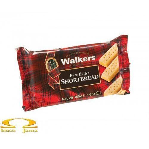 Ciasteczka maślane pure butter shortbread fingers 160g marki Walkers
