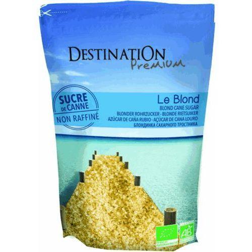 Cukier trzcinowy jasny nierafinowany 1kg - bio eko marki Destination