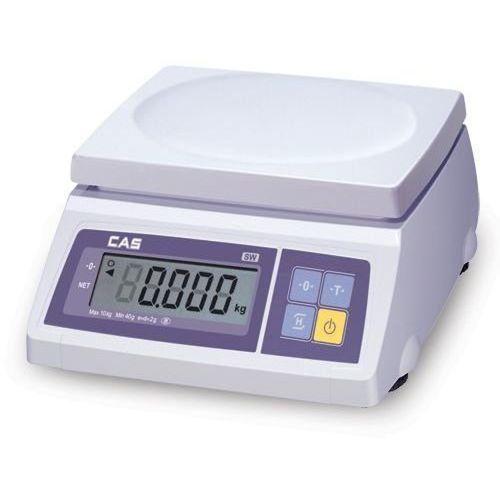 Cas  waga sklepowa prosta do 10kg x 2/5g / komunikacja z kasą fiskalną - wysyłka gratis