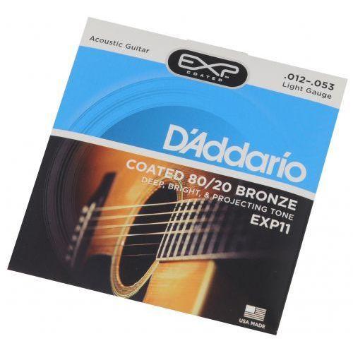 exp 11 struny do gitary akustycznej 12-53 marki D′addario