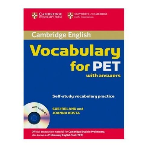 Cambridge Vocabulary for PET with answers, w. Audio-CD (9783125396241)