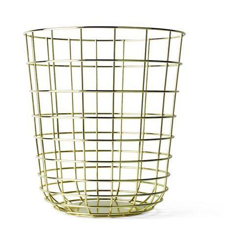 Kosz druciany Menu Wire Bin brass - oferta [25fe4f78c775f34f]