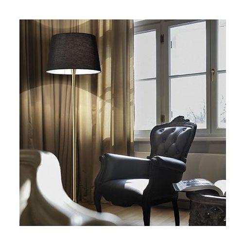 Ideal lux 110257 lampa podłogowa london pt1 czrna/mosiądz