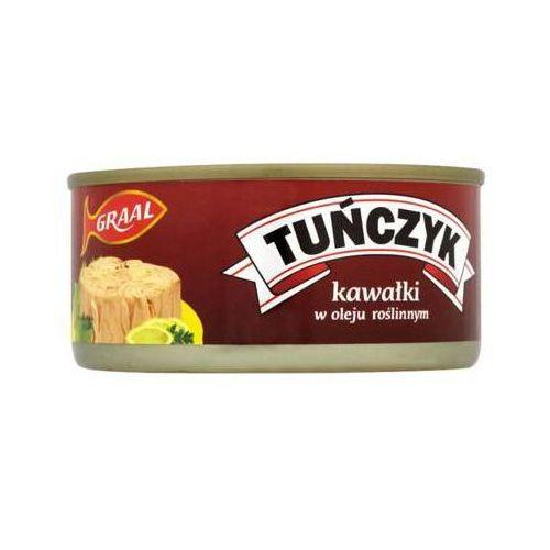 Graal 170g tuńczyk kawałki w oleju roślinnym