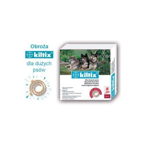 Bayer Kiltix obroża przeciw pchłom i kleszczom dla dużych psów 70cm (pielęgnacja psów)