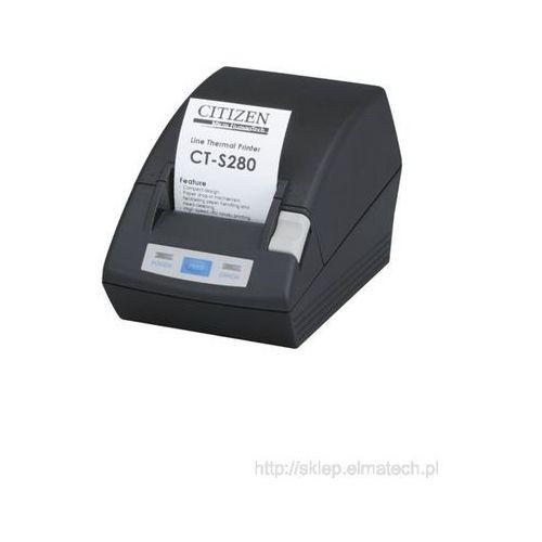 Citizen CT-S281L, USB, obcinak, czarna, CTS281UBEBKPLM1