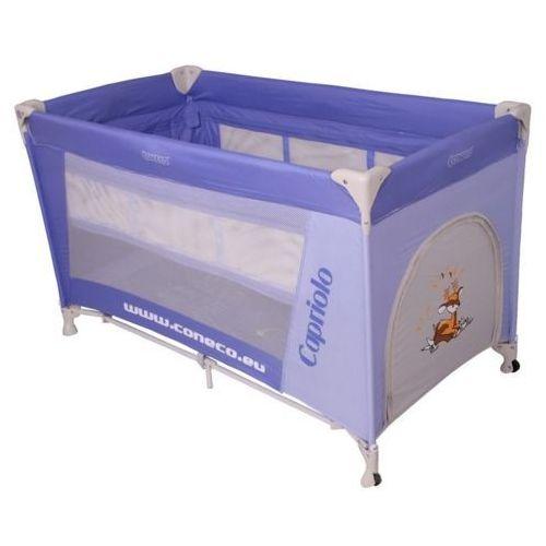 Coneco CAPRIOLO kojec łóżeczko turystyczne dwupoziomowe z moskitierą - produkt dostępny w Dziecięce Marzenia