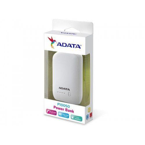 Powerbank p10050 10050 mah 5v / 2,4 a white marki Adata