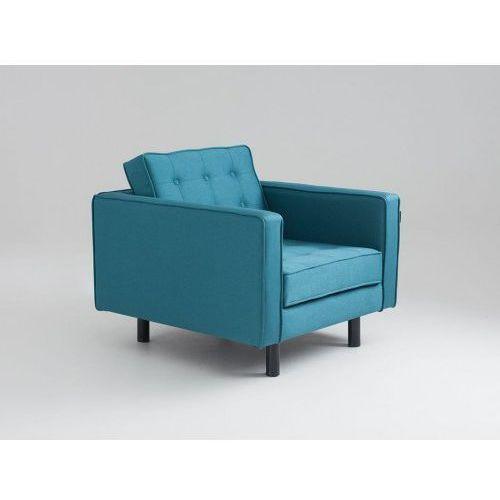 Customform Fotel topic, morskie fale, czarny
