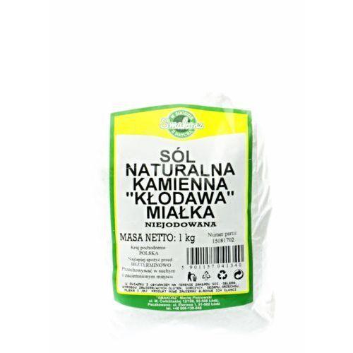 Smakosz Sól kamienna naturalna miałka 1kg