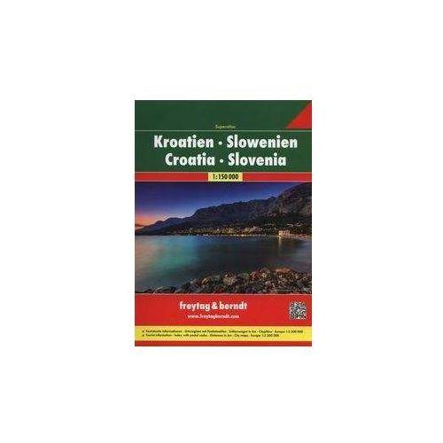 Chorwacja, Słowenia. Atlas samochodowy 1:150 000. Freytag & berndt, Freytagberndt