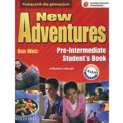 Adventures Pre-intermediate New Student's Book, oprawa miękka